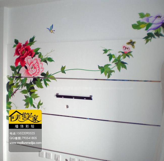 墙体彩绘天津手绘墙画墙绘素材墙画价格室内墙面装饰
