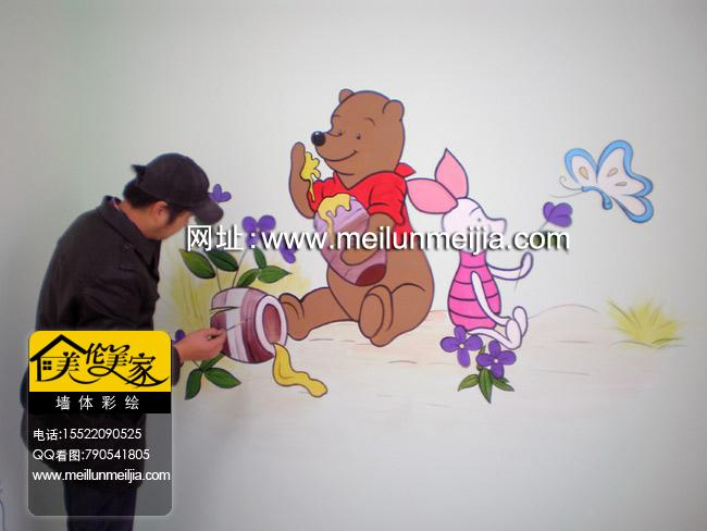 新园天津墙绘天津墙体彩绘天津手绘墙画墙绘素材墙画价格室内墙面装饰