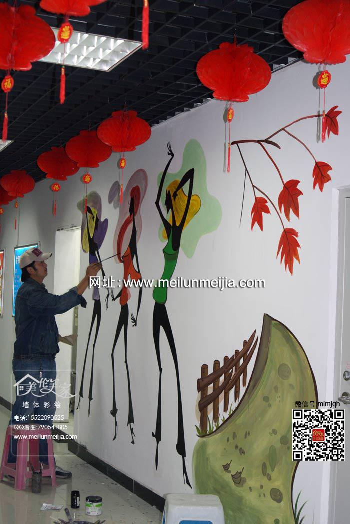 天津手绘墙壁画的装饰特点北辰区手绘墙天津墙绘,天津