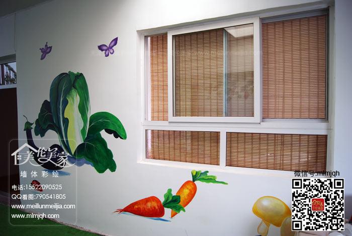 手绘墙壁画现代墙面软装饰的新形势