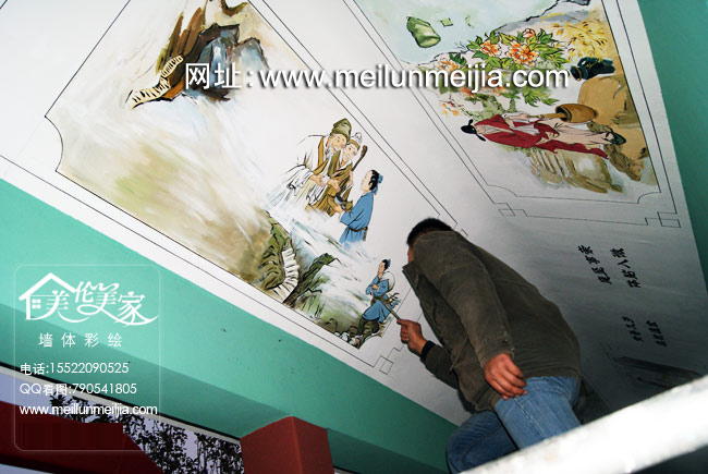天津墙体彩绘,天津手绘墙,天津墙绘,彩绘墙壁,墙绘,室内墙绘,天津酒店墙绘,手绘墙,涂鸦手绘墙,彩绘墙体价格