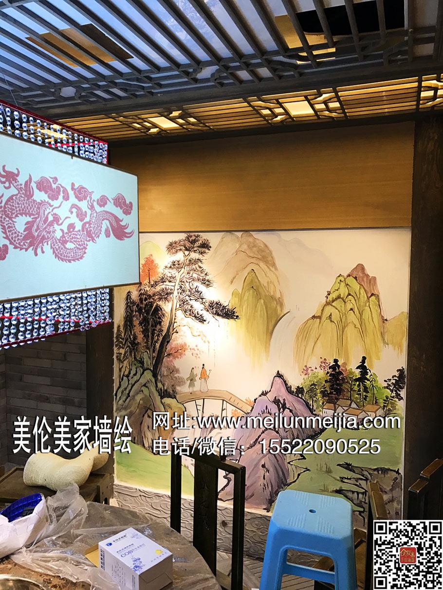 天津墙绘|墙体彩绘|墙绘画师|手绘壁画|墙画|彩绘|涂鸦