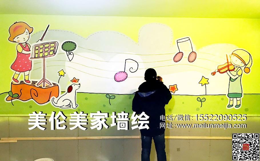 天津墙绘,幼儿园墙绘,过道墙体彩绘,教室墙画,走廊墙绘,学校文化墙,卡通形象墙,儿童房手绘墙,早教中心墙绘,画