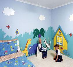 天津武清墙体彩绘,卧室墙画,儿童墙绘图片,幼儿园墙面彩绘